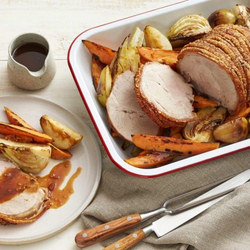 Carnea de porc este bogata in vitamine si minerale